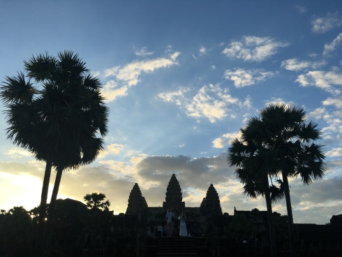 Aaron in Ankor Wat