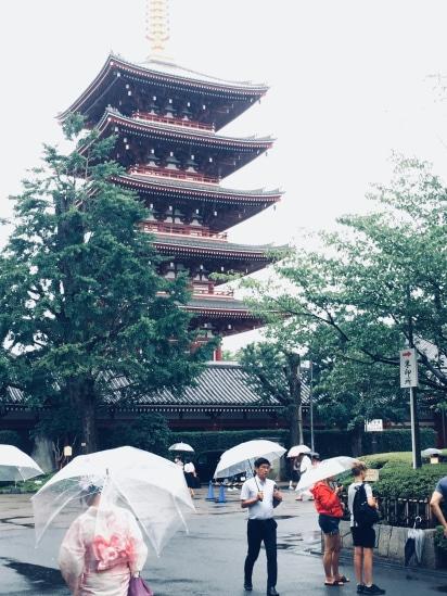 Aaron in Japan