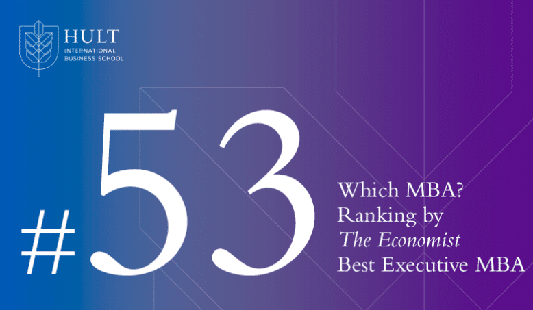 Hult EMBA ranked 53rd best worldwide by The Economist's Which MBA?