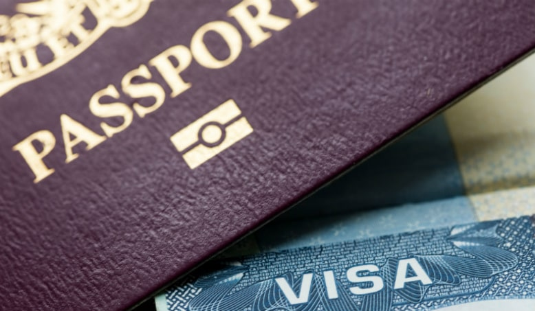 Traveling visa passport