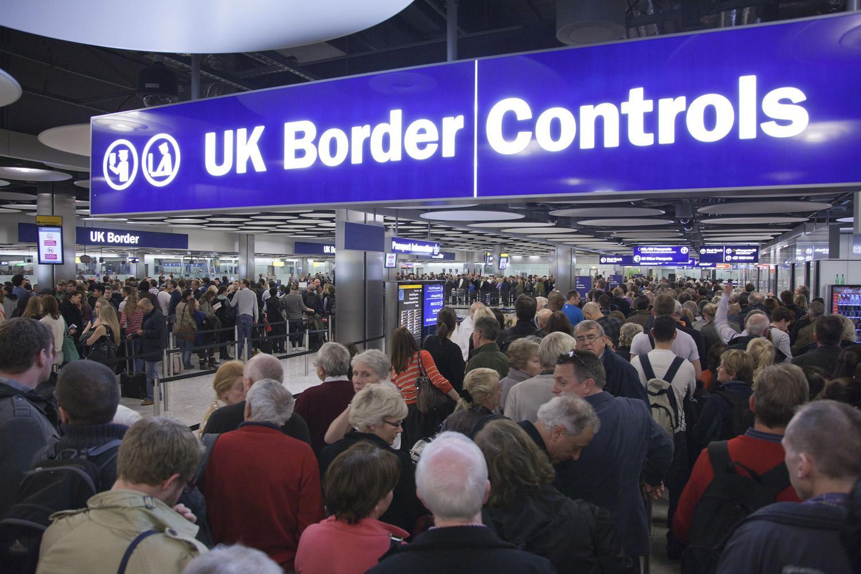 Traveling Heathrow Border