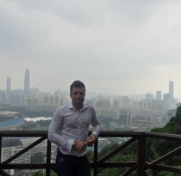 Alan in China