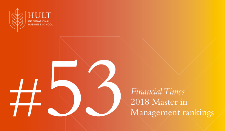 Hult joins Financial Times rankings as highest new entrant