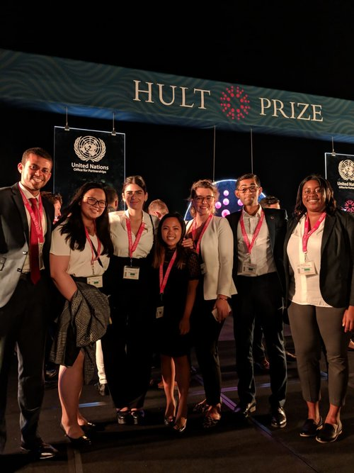 The Global Ambassadors at the Hult Prize