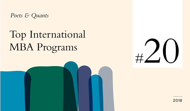 Hult's Global One-Year MBA ranked #20 in Poets & Quants' Top International MBA Programs of 2018 ranking