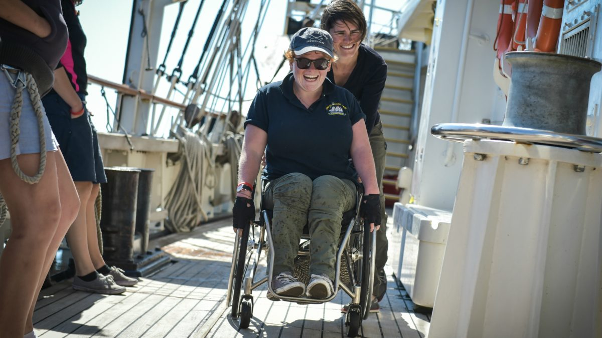 Changing attitudes to disability in the workplace: a study with Barclays and Jubilee Sailing Trust