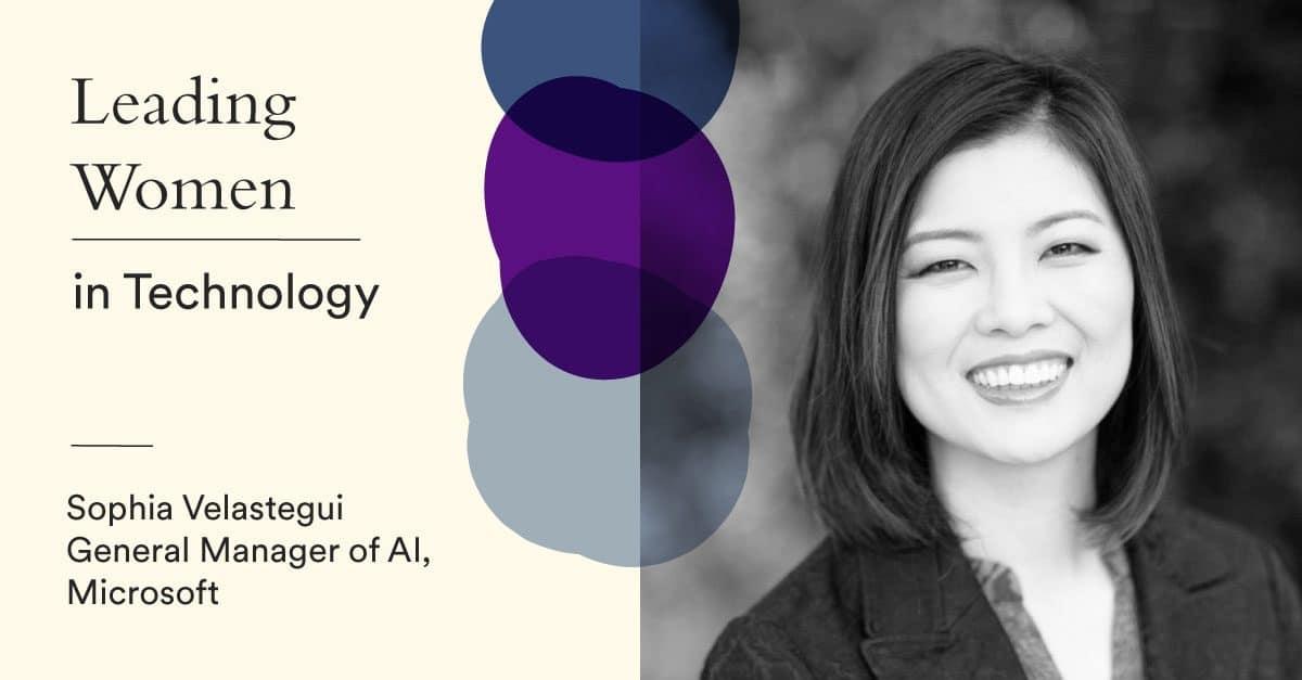 Microsoft's Sophia Velastegui : More diversity needed in the AI Revolution