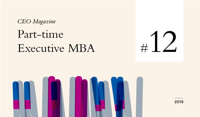 Hult ranked #12 and Tier One by CEO Magazine in 2019 Rankings