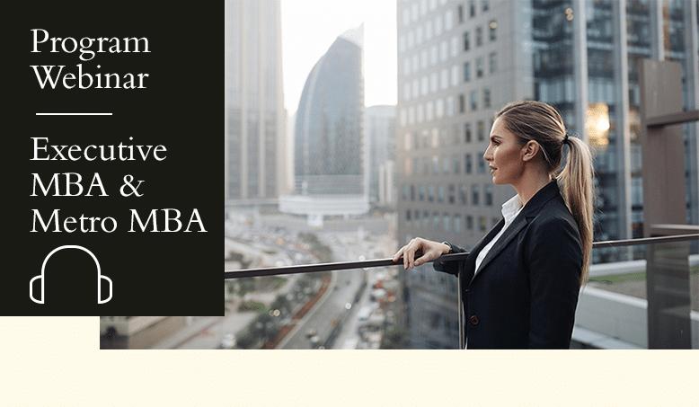 Webinar: Hult's Executive MBA