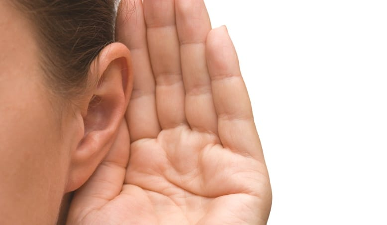 "You're not as good a listener as you think you are. 3 ways to ""listen up"" and improve your approachability."