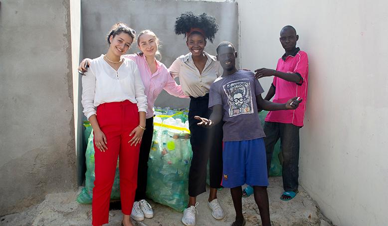 Ufolo: Cara Regier, Elizabeth Queta, and Laura Wittka photographed at work in Angola
