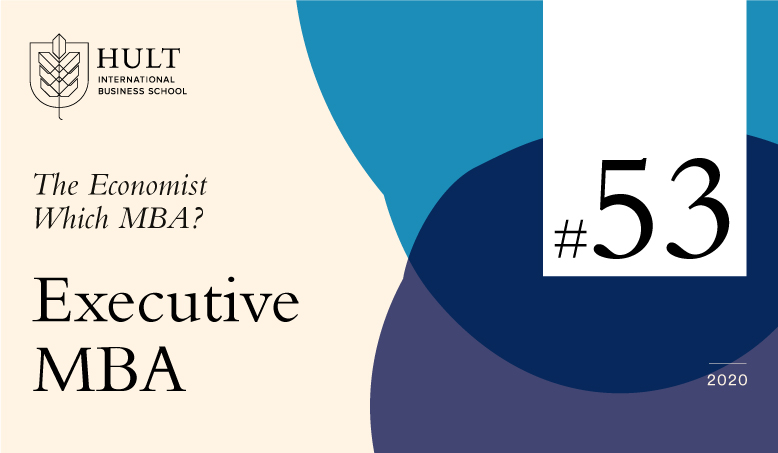 Hult Executive MBA ranked 53rd best worldwide by The Economist's Which MBA?