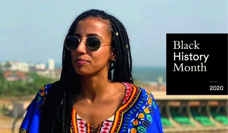 Black History Month: Selam Ibrahim, masters alum