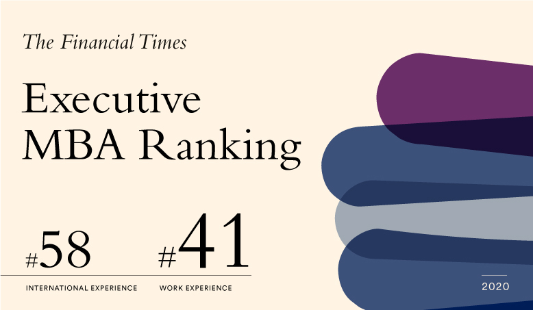 Financial Times Executive MBA Ranking 2020