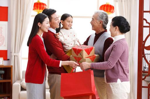 family Chinese New Year
