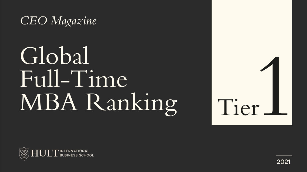 CEO Magazine 2021 Global MBA Rankings: Hult Ranks Tier One