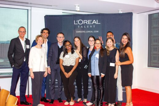 Nicole returning to Hult as an employer with the L'Oréal team
