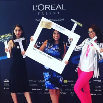 The recruiting event where I met the L'Oréal Travel Retail Americas team (to later be hired)