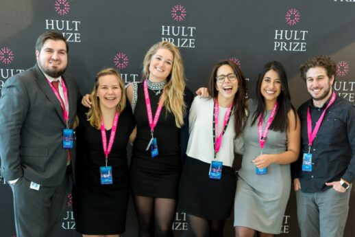 Nicole with Hult Prize team